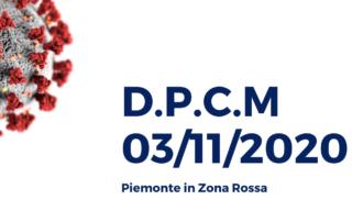 D.P.C.M-03_11_2020. Piemonte zona rossa